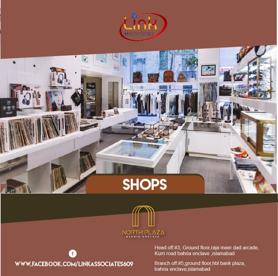 North Plaza Bahria Enclave Time To Invest In Shops Ideal Location