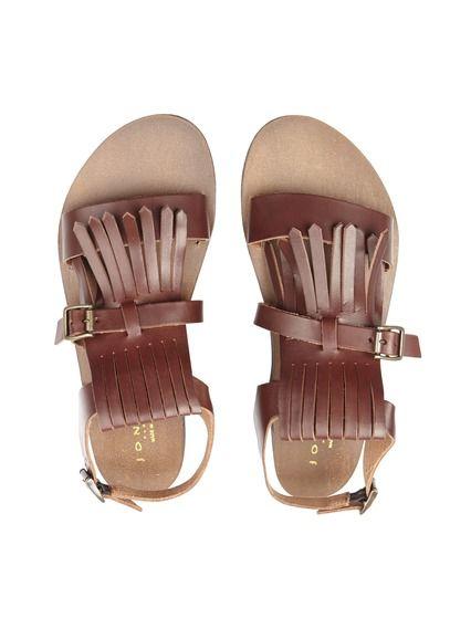 Sandales plates JONAK