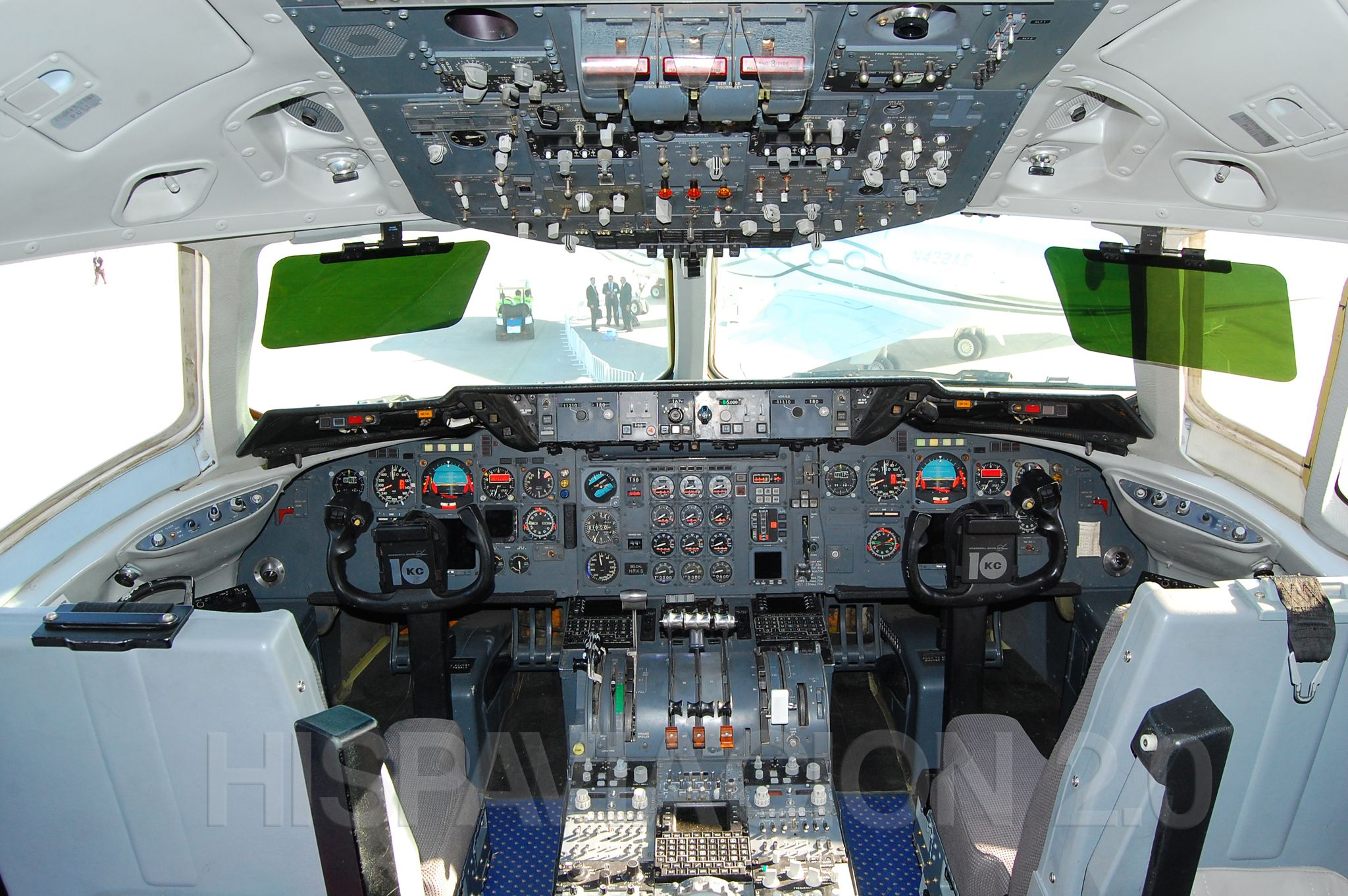 Cockpit Kc 10 At Fidae 2012 Cockpit Flight Deck Military Pictures