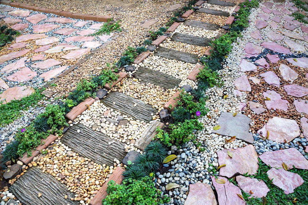 75 Garden Path Ideas and Designs (PICTURES) is part of Garden paths, Diy garden, Wooden garden planters, Walkways paths, Walkway landscaping, Garden pathway - Check out these 75 beautiful and inspiring garden path ideas  Small and large paths and walkways in garden settings  Diverse designs