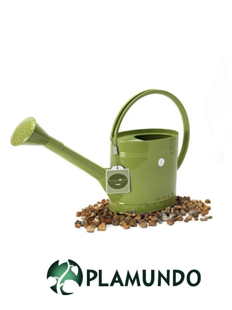 Englische Giesskanne Von Burgon Ball 5 Liter Limettengrun Plamundo Garten Shop Watering Can Lime Green Watering