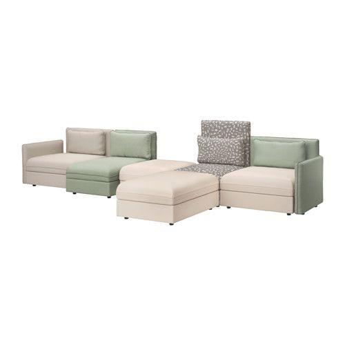 VALLENTUNA 5er-Sofa IKEA Ergänzen, umgestalten, neu kombinieren, Bezüge wählen - alles ganz nach Wunsch und wann immer du willst.
