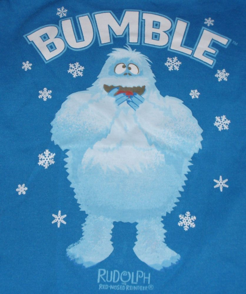 add5134145 NWT BABY TODDLER rudolph BLUE BUMBLE ABOMINABLE SNOWMAN LS SHIRT TOP 12M  18M  Rudolph  Everyday