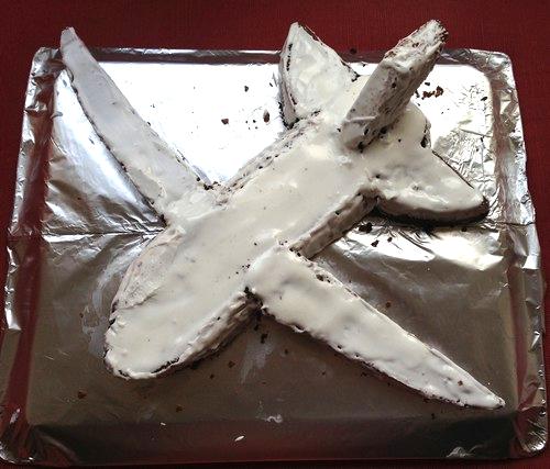 comment faire soi-même un beau et bon gâteau en forme d'avion pour