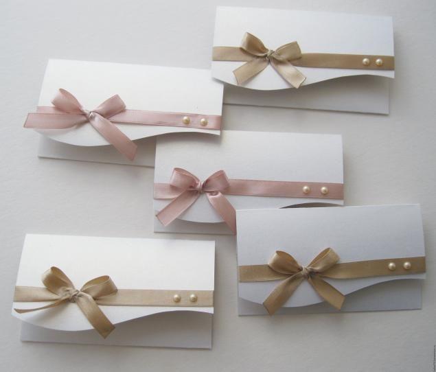 Приглашения своими руками на зимнюю свадьбу 174