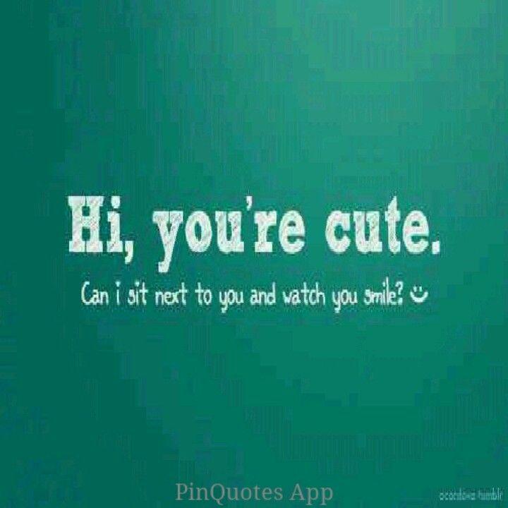 Flirten sätze