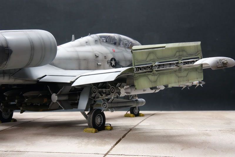 Trumpeter 1 32 A 10 N Aw Thunderbolt Ii Large Scale Planes Scale Model Building Model Airplanes Aircraft Modeling