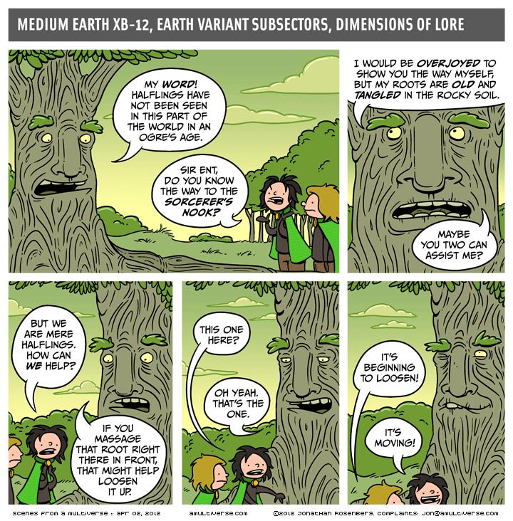 Halfling Comic