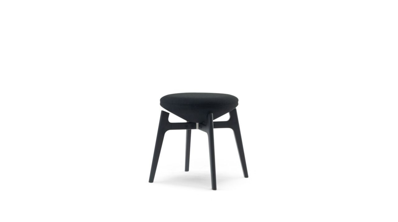 Small Stool Without Back Or Automatic Return Function Seat And Back Cushions Filled With Hr Foam 65kg X2f M3 Upholstered I Stool Small Stool Cushion Filling