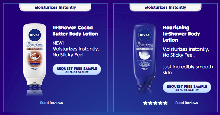 photograph regarding Nivea Printable Coupons called Cost-free Nivea Inside of-Shower Entire body Lotion Pattern Funds Dollars