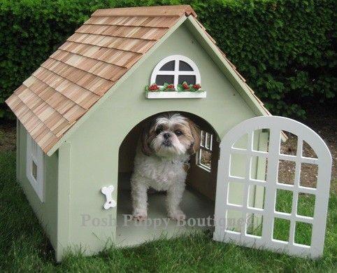 Couture Dog Houses Found at #PoshPuppy Boutique!#BestDogBoutique #DogCouture #Doghouse #Dog https://www.poshpuppyboutique.com/Pet_Dens_s/334.htm