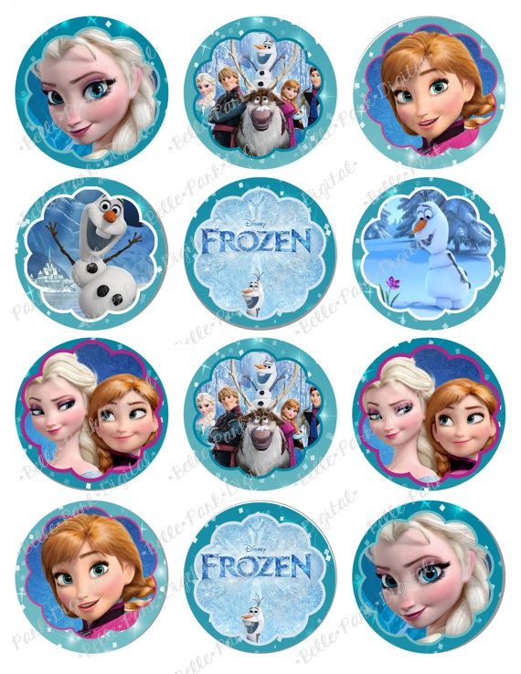 Frozen Olaf Cake Toppers