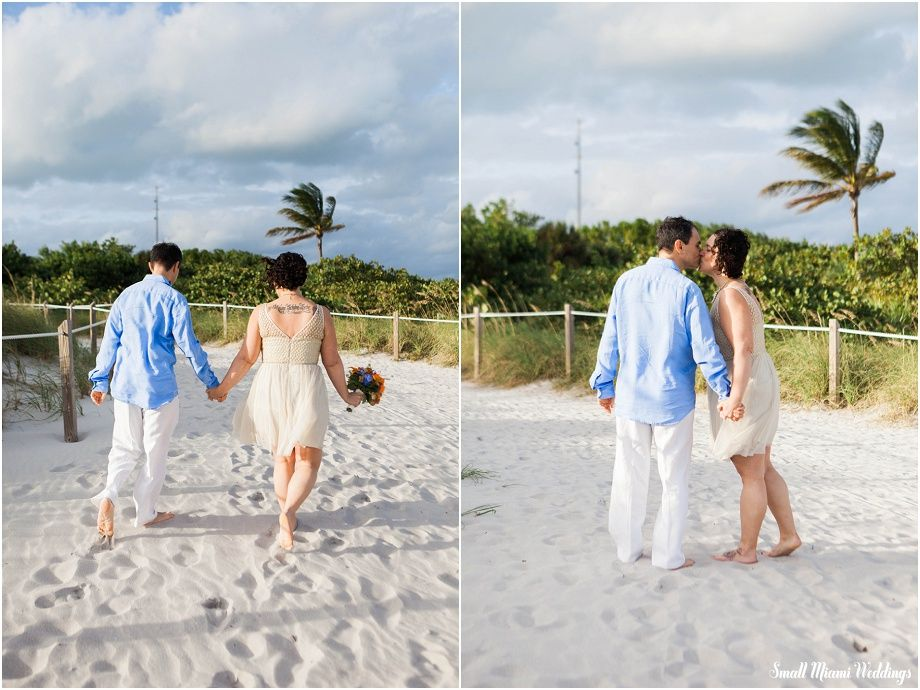 Affordable Beach Wedding Eloping In Miami Key Biscayne Near Florida Lighthouse