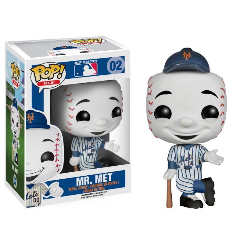 Funko POP! MLB Vinyl Figure MR. MET (New York Mets