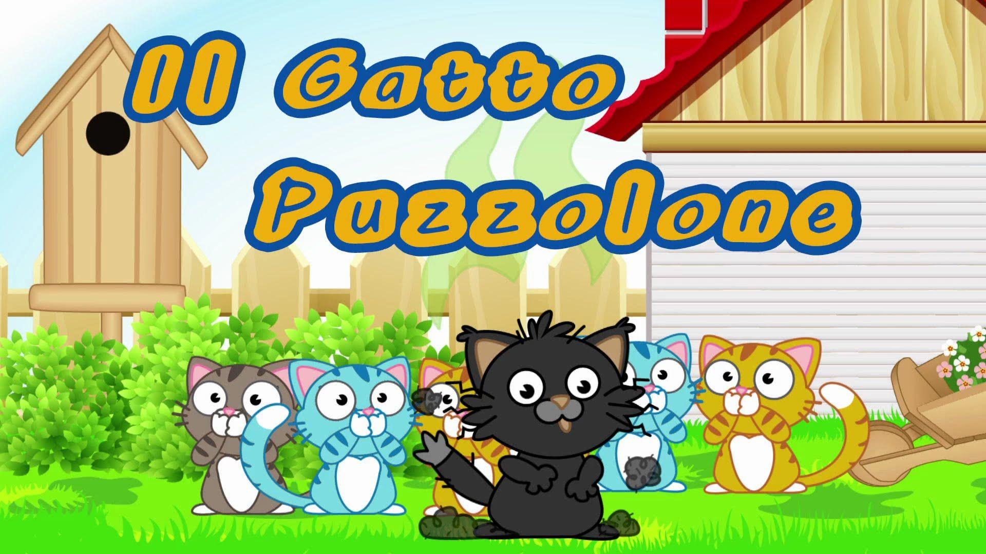 Il Gatto Puzzolone Canzoni Per Bambini E Bimbi Piccoli