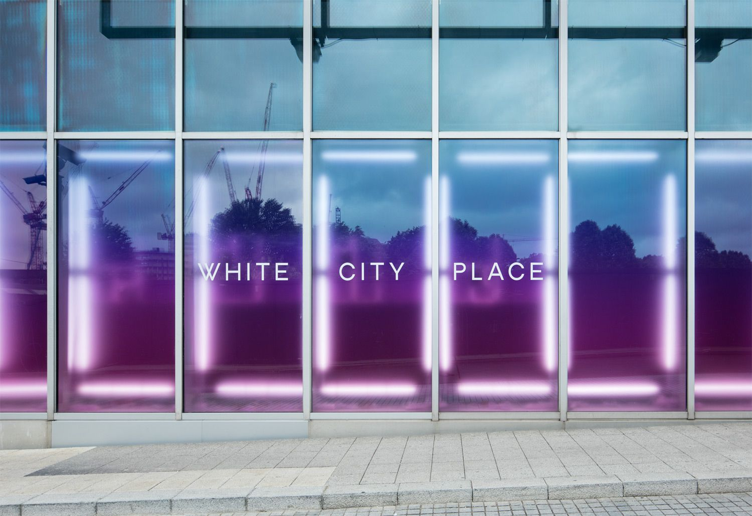 White City Place architecture display. dn&co.