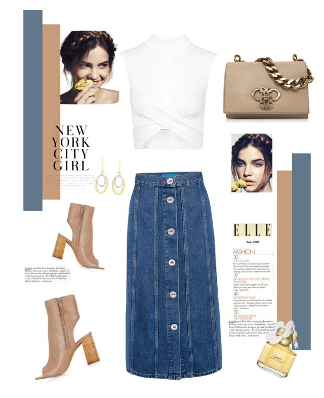 """""""Untitled #191"""" by blackparrott on Polyvore featuring Topshop, M.i.h Jeans, Emilio Pucci, H&M, IBB and Marc Jacobs"""