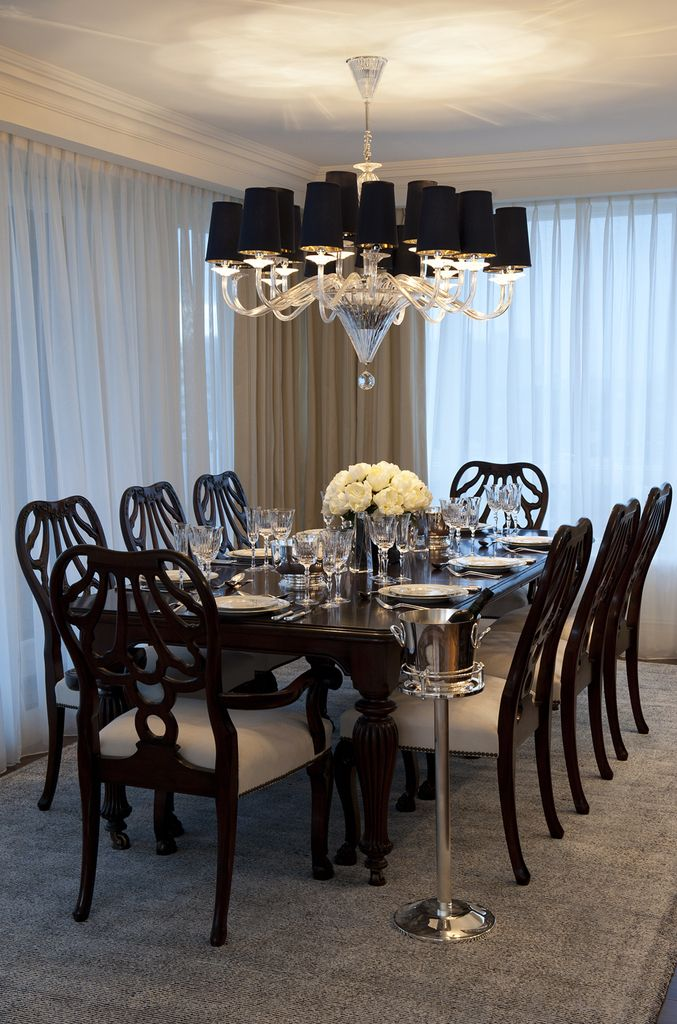The Studio Harrods Riverside Apartment Dining Room Comp 677x1024