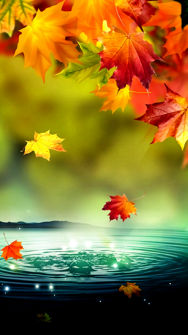 Autumn Mobile Hd Wallpaper In 2020 Fall Wallpaper Landscape Wallpaper Beautiful Flowers Wallpapers