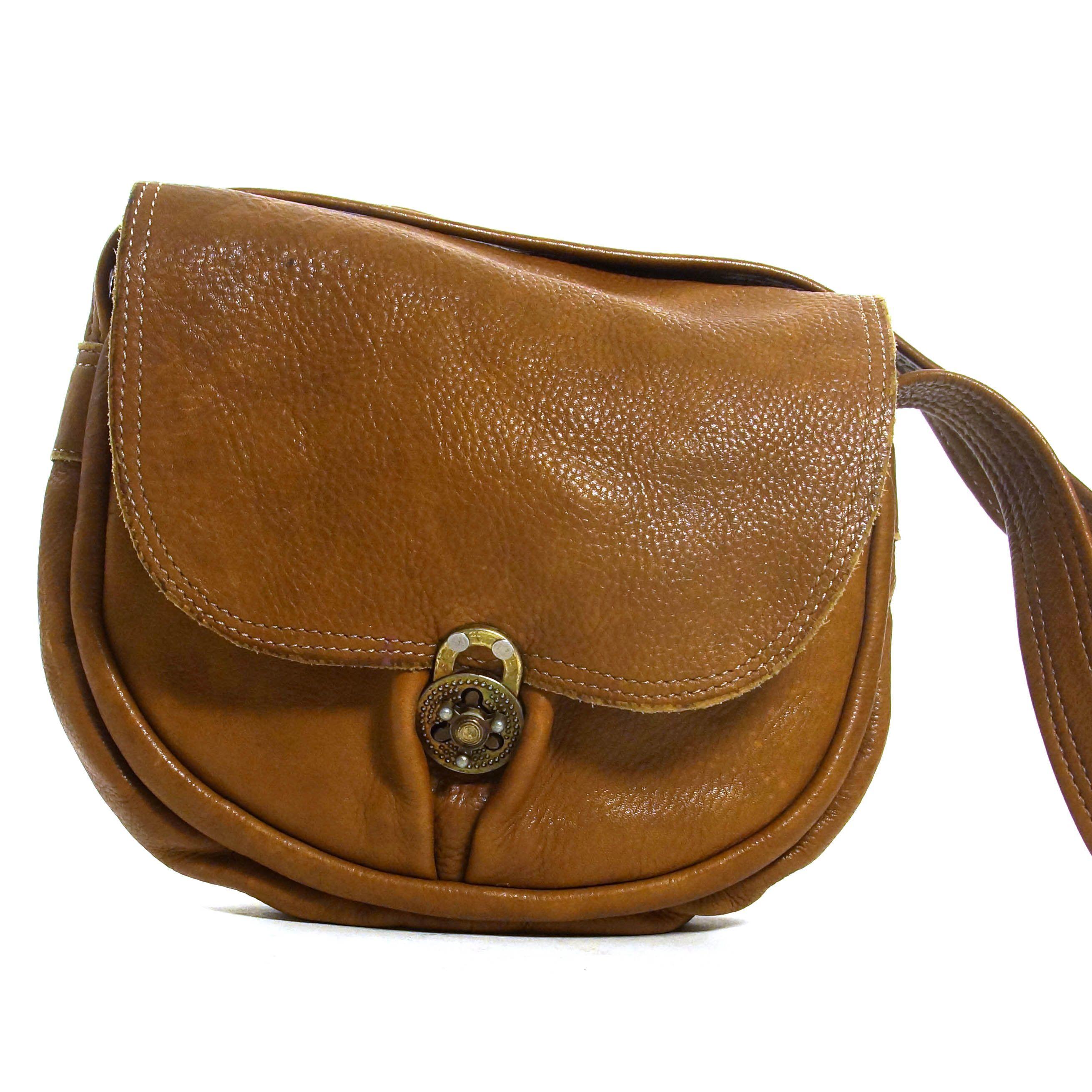 6748f01ea806 Brown Leather Hobo Bag Vintage 90s Distressed Hippie Boho Satchel Soft  Slouchy Buttery Leather Saddle Bag Shoulder Strap by SpunkVintage on Etsy