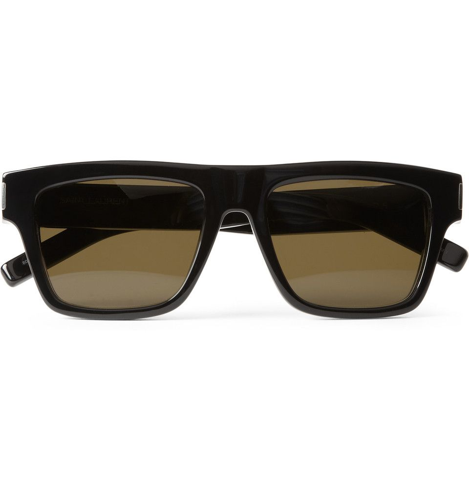 Saint Laurent Bold Square-Frame Acetate Sunglasses   MR PORTER M. Porter,  Lunettes c399f8b31b3