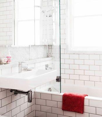 white rectangular bathroom tiles home design - White Square Bathroom Tile