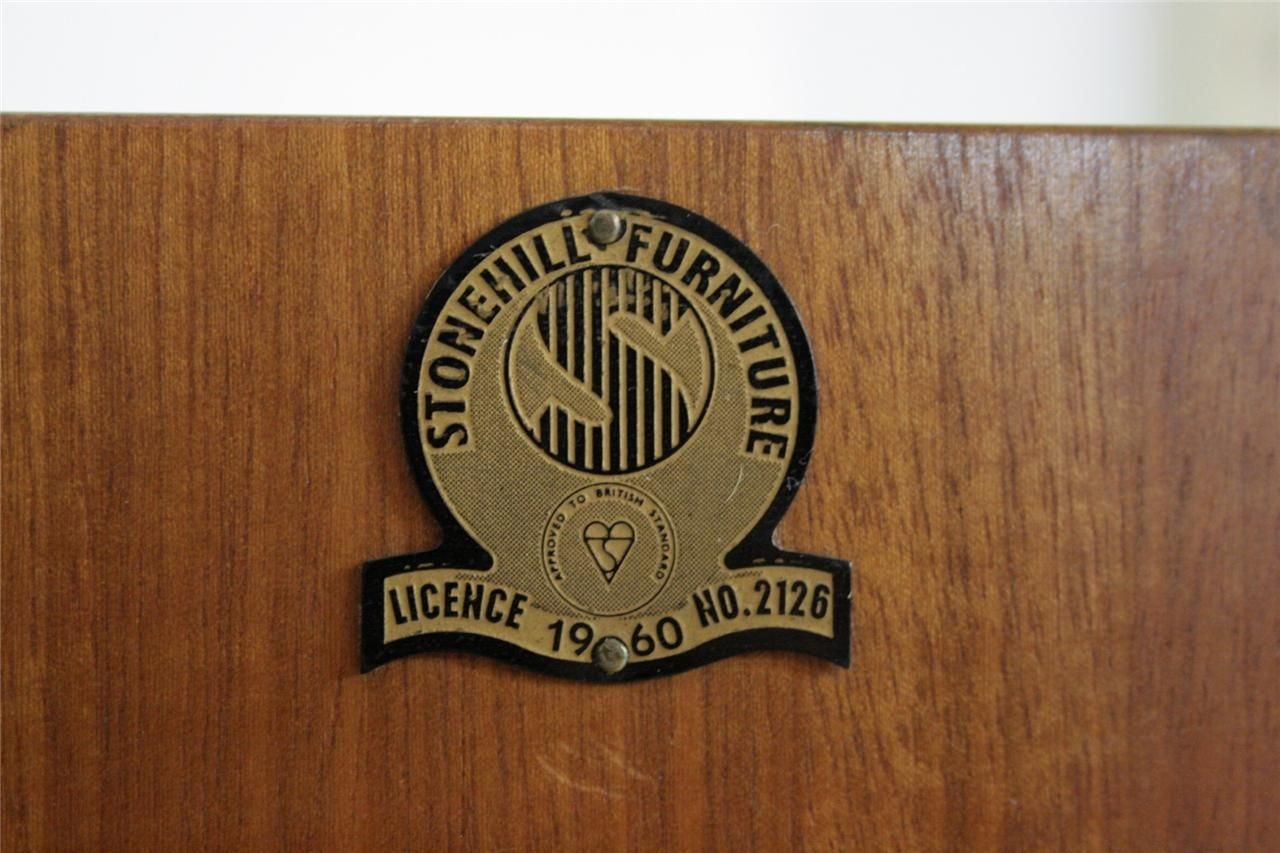 Stonehill Furniture Label. 1950u0027s