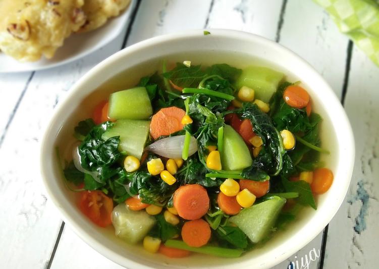 Resep Sayur Bayam Pelangi Seninsemangat Oleh Dapurvy Resep Bayam Sayuran Resep Makanan
