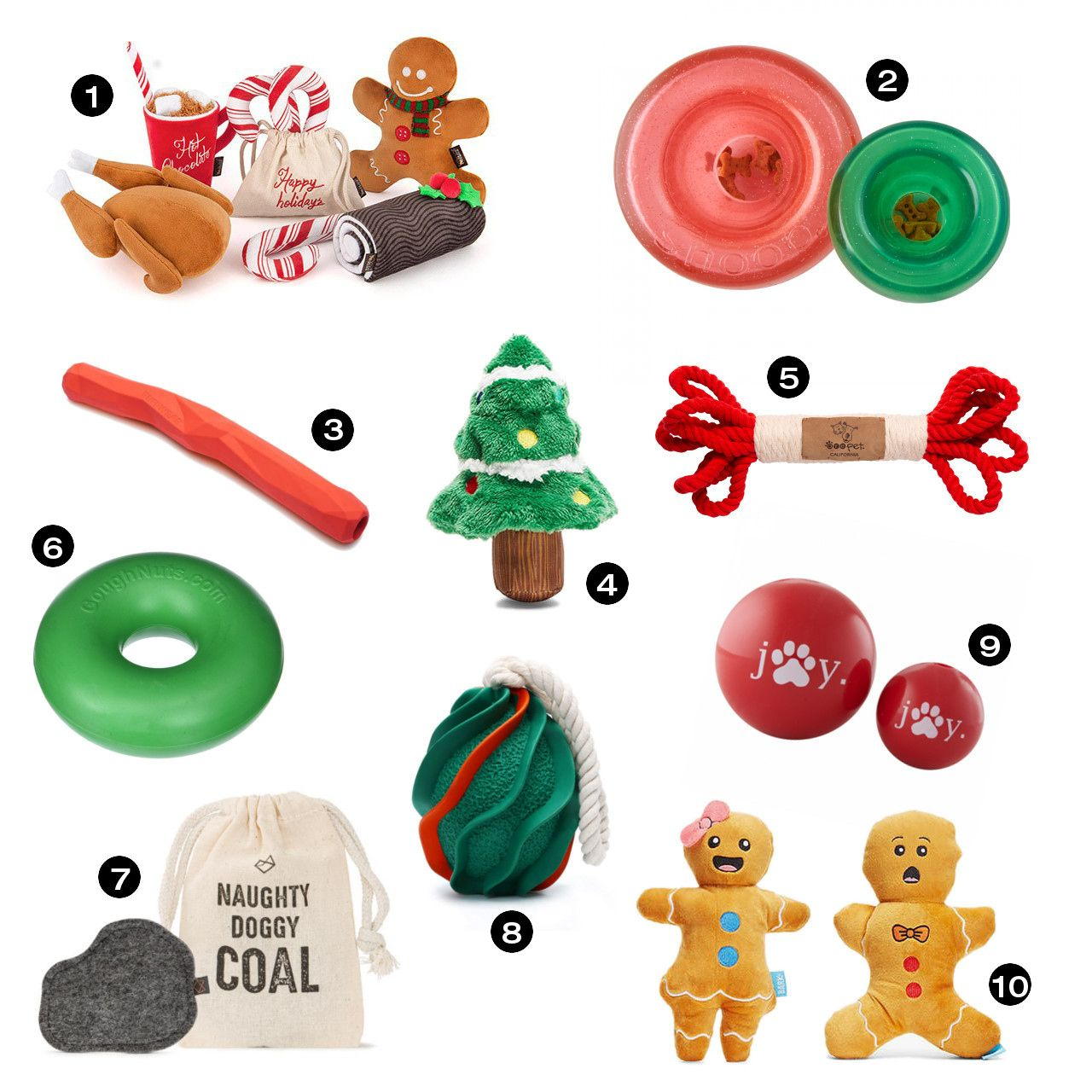 Holiday Classic Plush Toy Collection Best Dog Toys For Chewers