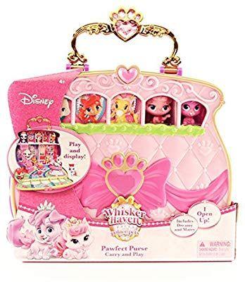 "Amazon.com: Disney Princess Palace Pets Carry & Play Pawfect Purse Toy, 1.5"": Toys & Games ..."