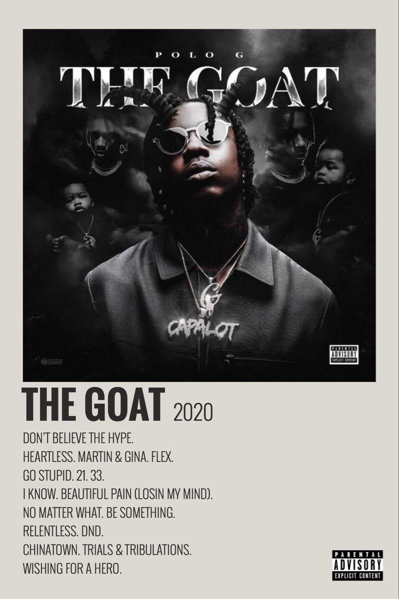 The Goat By Maja Music Poster Minimalist Music Music Poster Design