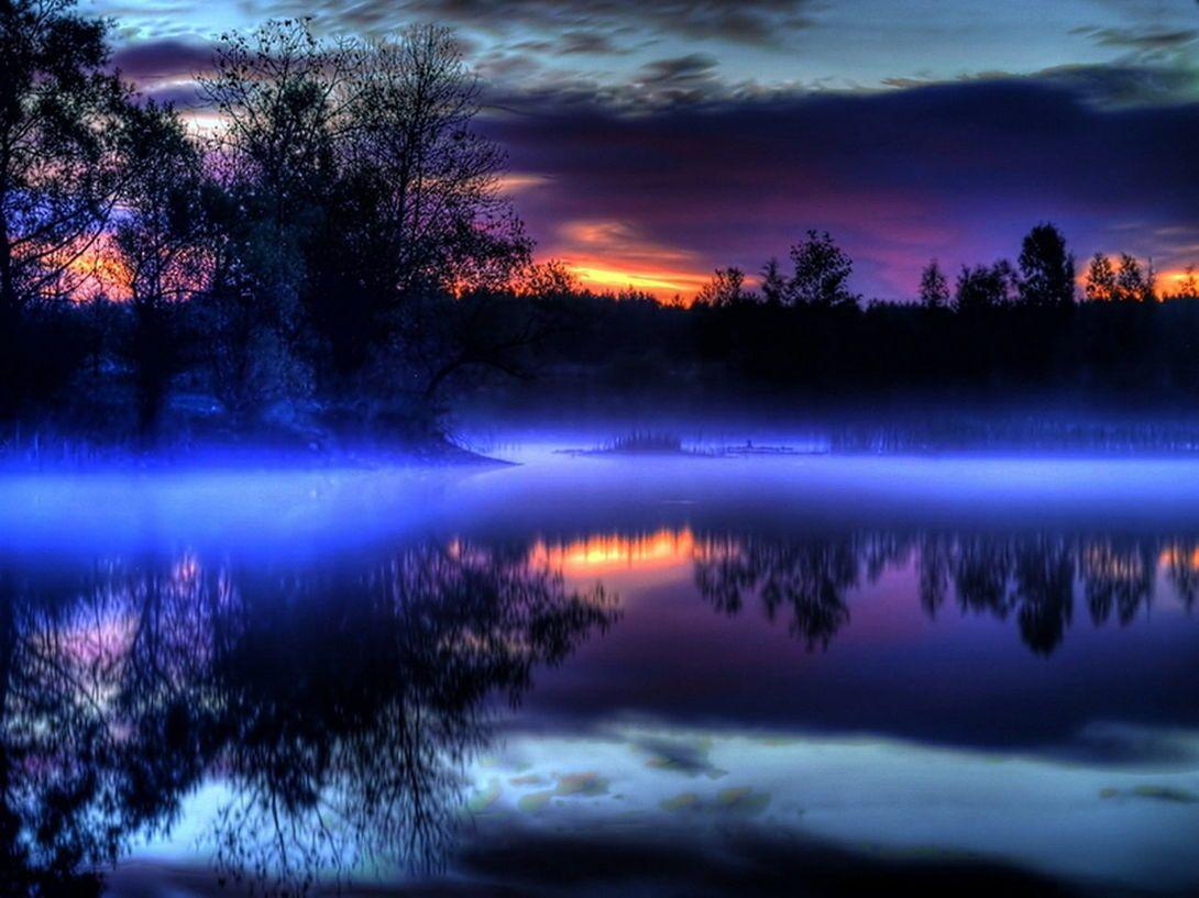 оттенок ночи картинки населенных мест