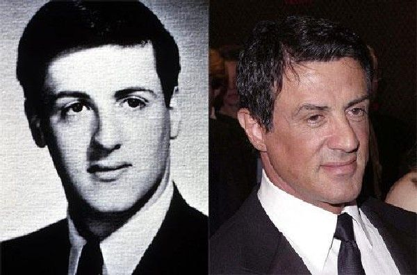 Sylvester Stallone in youth