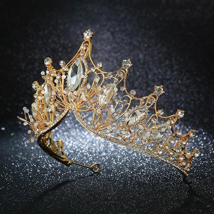 New Handmade Crystal Princess Crowns Tiaras | Bridelily