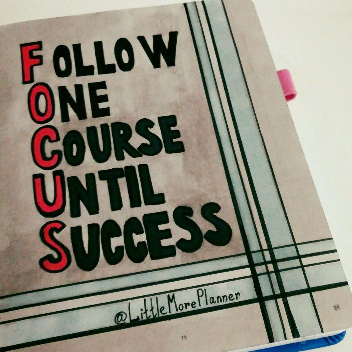 Focus On Your Goal Don T Look In Any Direction But Ahead