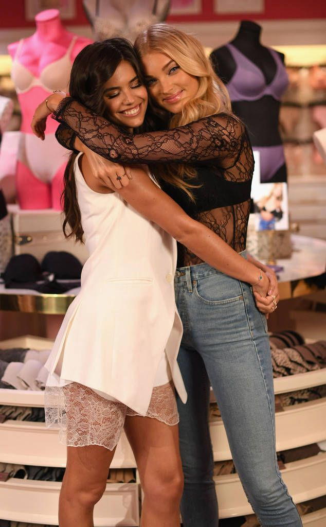 f91bb8077e Sara Sampaio   Elsa Hosk from The Big Picture  Today s Hot Photos The Victoria s  Secret besties celebrate the new