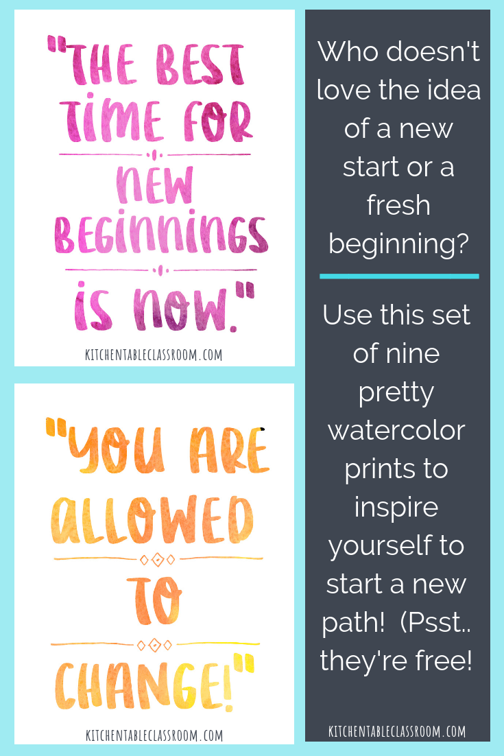 Quotes About New Beginnings Encouragement For Big And Little
