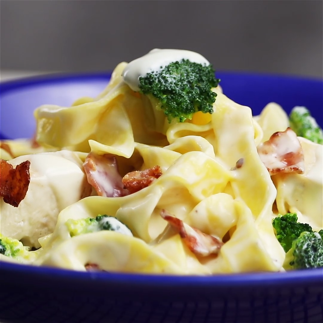 Photo of Chicken pasta in cream sauce