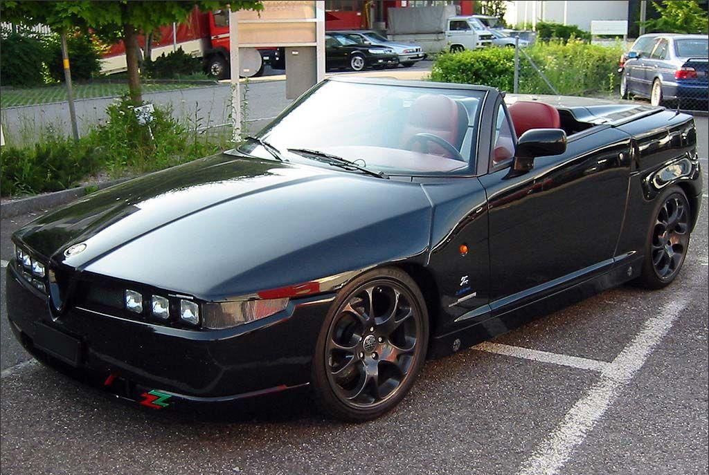 Alfa Romeo RZ Zagato Spider V Cosmic Car Wish List - Alfa romeo spider 1994