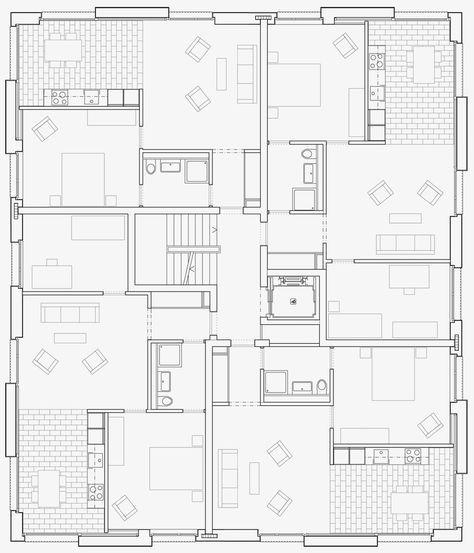 Grundriss Prototyp Fur Affordable Housing Haus Adimora Vinilovyj Sajding Plan Etazha Planirovki