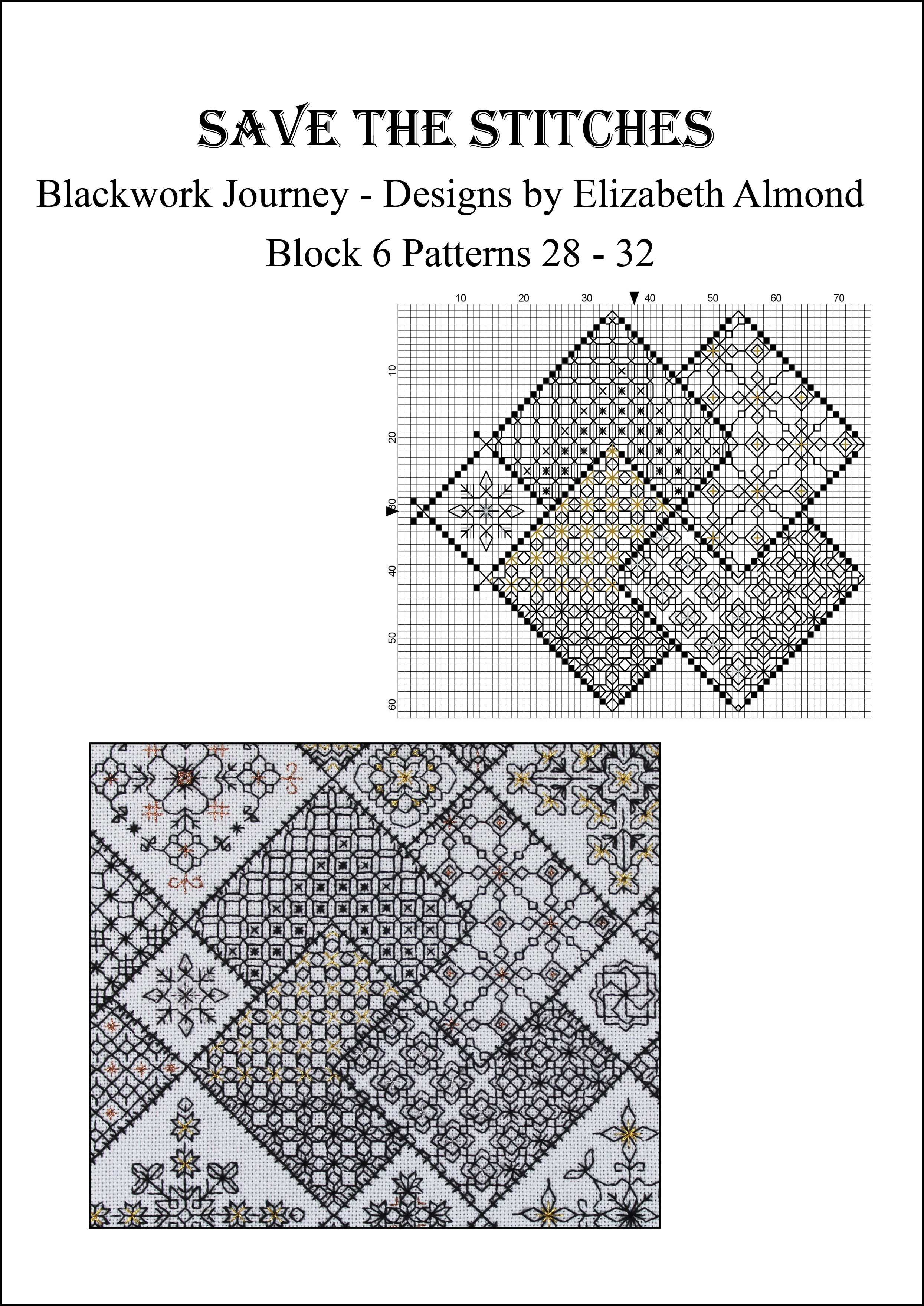 Save the stitches block 6 free pdf download available from www save the stitches block 6 free pdf download available from blackworkjourney blackwork cross stitchblackwork embroiderycross bankloansurffo Gallery