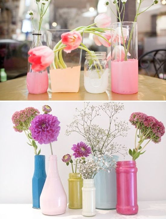 Creative vase ideas for wedding centerpieces flowers pinterest creative vase ideas for wedding centerpieces junglespirit Images