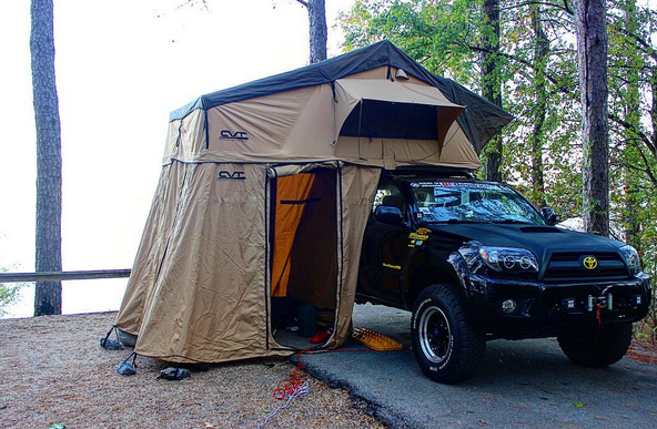 CVT Mount Rainier Roof Top Tent on 4th gen 4runner (IG @4runner84) : rainier tent - memphite.com