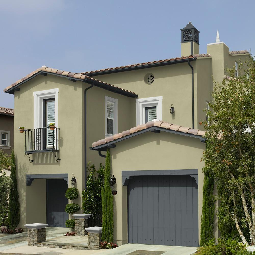 behr premium plus 5 gal ppu9 21 sanctuary flat exterior on behr premium paint colors id=58183