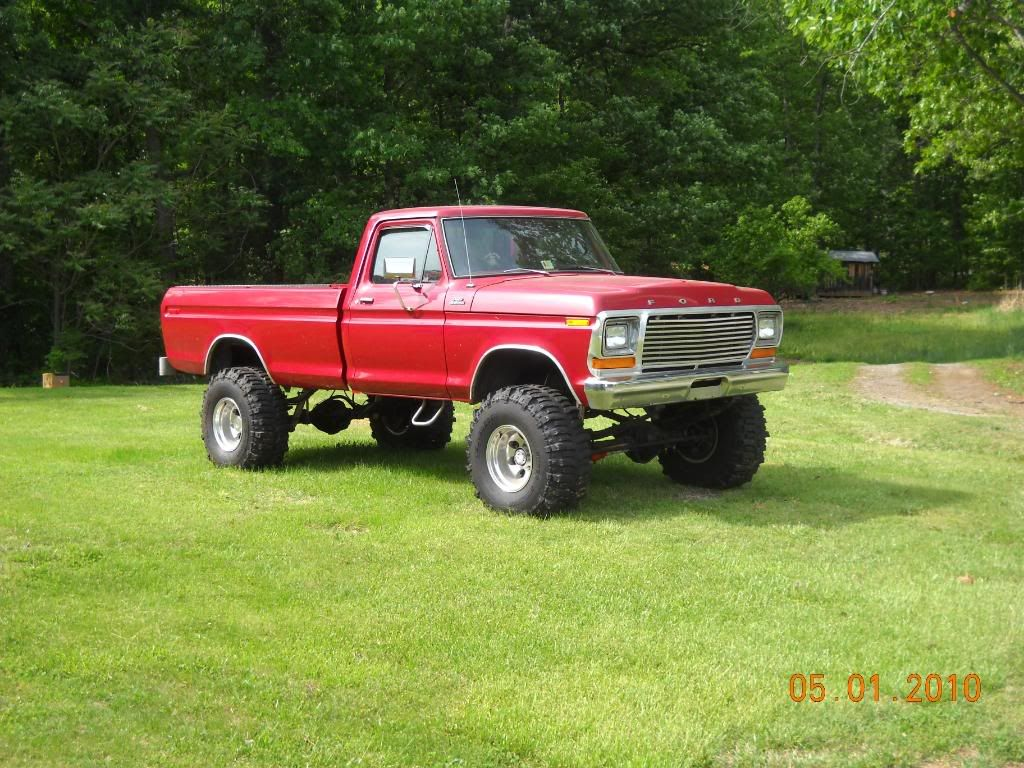 Pictures 73 79 ford truck with 3 inch body lift google search