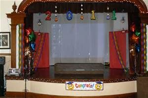 Kindergarten Graduation Stage Decoration Ideas