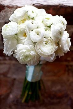 red peony roses tulips and ranunculus wedding flowers google search - White Garden Rose Bouquet
