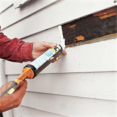 How To Patch Wood Siding Wood Siding Exterior Siding Repair Wood Siding