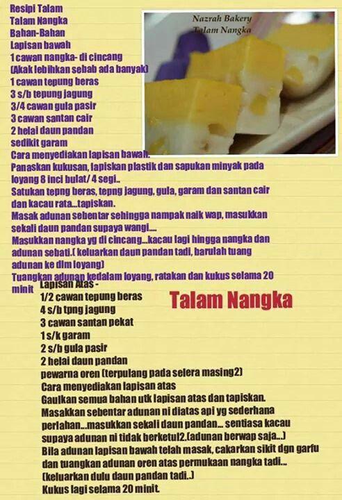 Nangka Cake Recipe