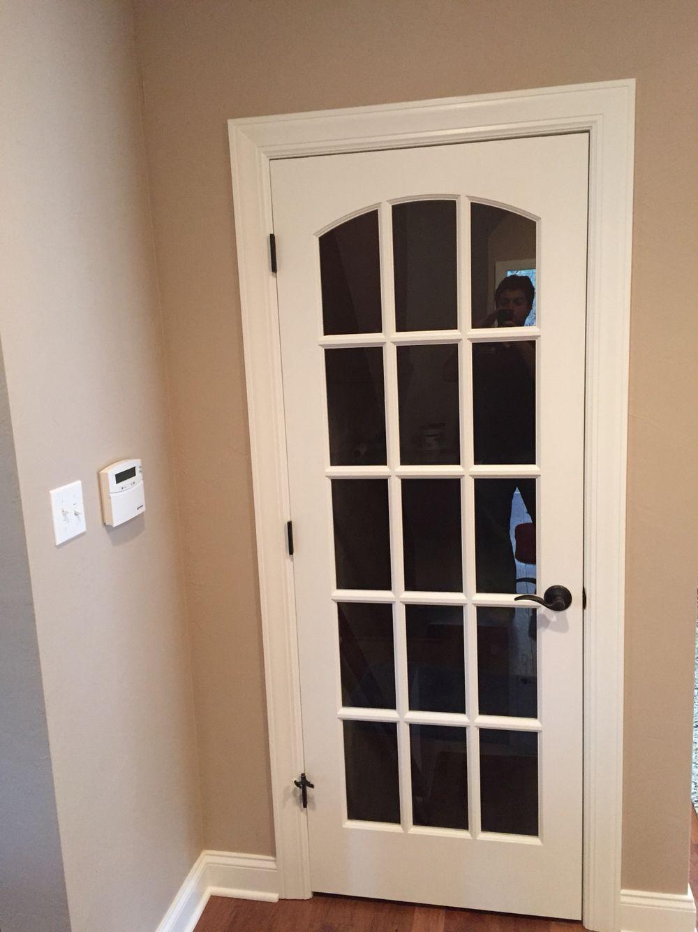 Interior glass door with grilles arch top doors pinterest